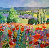 Spring meadow, Aurel, Provence