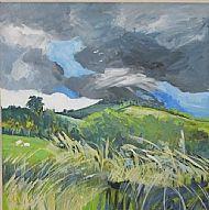 Storm Clouds & Gale Force winds  near Rockingham