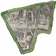 Aerial view of the 2015 dig