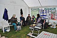 Volunteers at rest