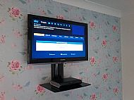 TV & SHELF FOR SKY BOX