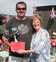 Winner of the Bert Tipping Cup with Josie Tipping..........
