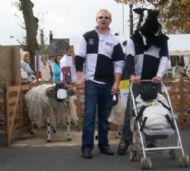 Mark & his Blind Human Sheep Dog Greggy