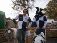 Greggy & his Blind Human Sheep Dog Mark