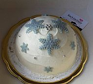 Ice cream cake- Snowflake