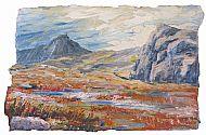 Greetings Card - High in the Limestone Hills