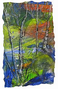 Card - Autumn Birch Trees