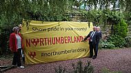 'Big Northumberland Day Flag'