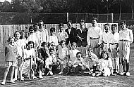 Cromarty Tennis Club in 1930