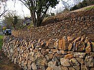 Mendip Limestone walls
