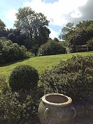the old vicarage garden