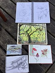 Sketching at Parke