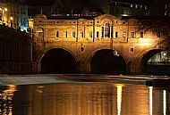 Pulteney Bridge by night