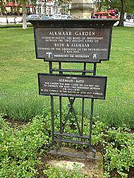 Alkmaar Garden plaque