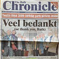 Bath Chronicle article - 2006