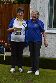 Ross-shire Ladies Singles finalists 2019