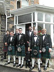 Boys en route to a wedding.