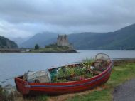 Looking towards Eilean Donan Castle