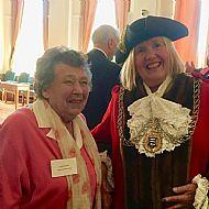 Pam Wilson & Cllr Julie Pickering