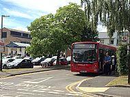K2 Bus Stand Kingston Hospital