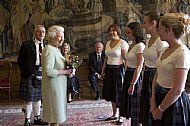 Dancing for the Queen