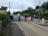 New Pedestrian Crossing on A38