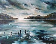 Loch Ness brooding