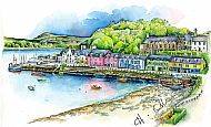 Portree Harbour print