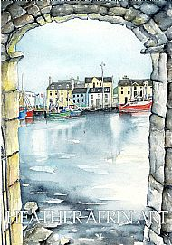 SOLD - Stornoway Through the Arch