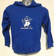Kids Royal Blue Hoodie Front