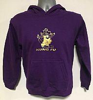Kids Purple Hoodie Front