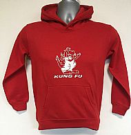 Kids Red Hoodie Front