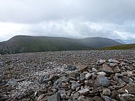A'Mharconaich and Beinn Udlamain from Geal-Charn