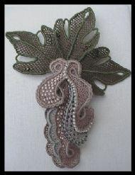 Needlelace Brooch