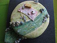 Birthday Picnic Cake