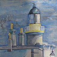 Blue Lighthouse Cromarty