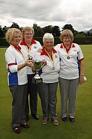 SALSC Ladies Bowls Tournament Winners 2014