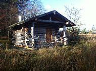 camping cabin at hart of mull