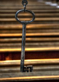 Key to Dunkeld Cathederal