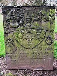 Herbert Stansfield's Gravestone