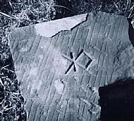 Stonemason's mark Meaford Hall 1