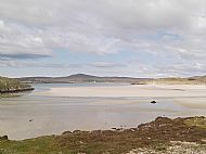 Uig sands from Carnish