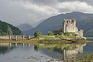 Eilean Donan Castle at Dornie