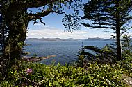 The Sound of Sleat from Armadale Castle and Gardens