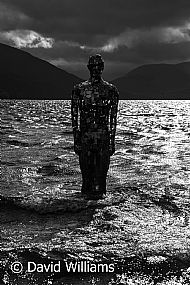 Man in the loch