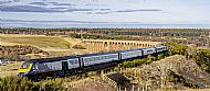 HST crosses the Culloden viaduct over the Nairn valley