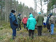 20th February 2016. Guided tour with Duncan Ross