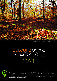 2021 black isle wall calendar