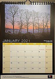 2021 Black Isle Wall Calendar
