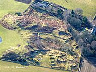 Courtesy of NOSAS. The Chambered Cairn is located in the top left-hand corner of this photograph.